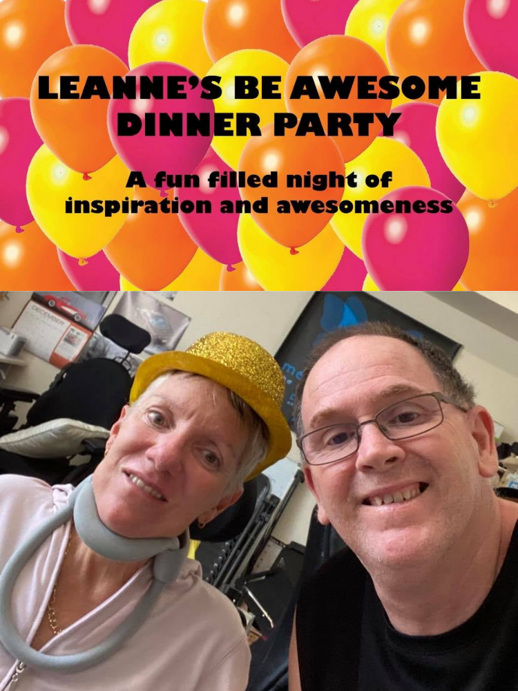 Leanne's Be Awesome Dinner Party – POSTPONED